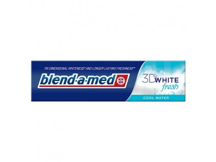 zubna pasta blend a med 3d white cool water 125 ml