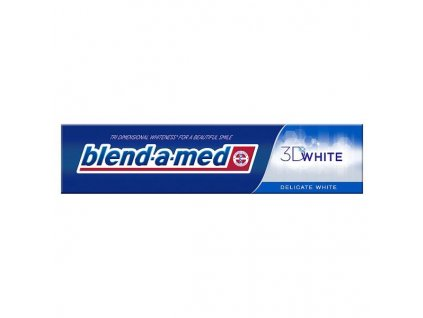 zubna pasta blend a med 3d white delicate white 125 ml