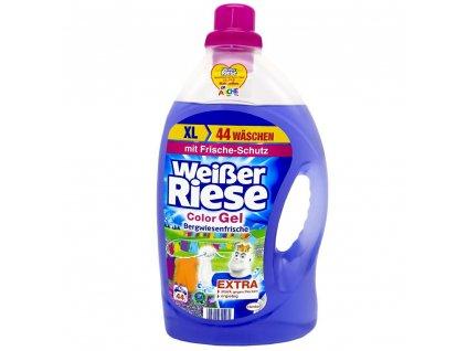 gel na pranie weisser riese color bergwiesenfrische 3 212 l 44 prani