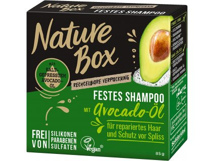 nature box avocado oil tuhy sampon 85 g