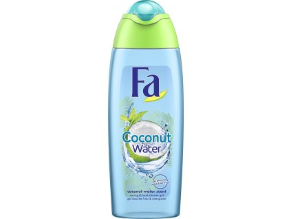 damsky sprchovy gel fa coconut water 250 ml