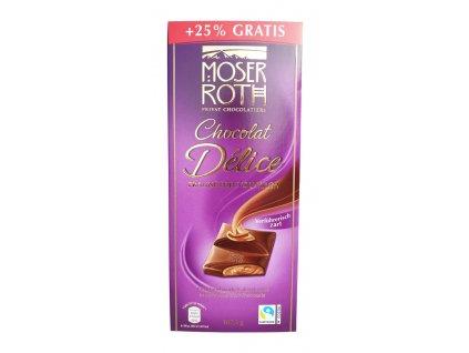 cokolada moser roth mousse au chocolat praline edel zartbitter 187 5 g