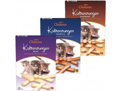 Choceur Katzenzungen mačacie jazíčky 20ks - 100g