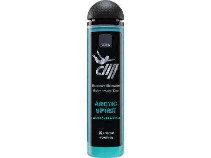 cliff energy arctic spirit xtreme cooling pansky sprchovy gel 300 ml