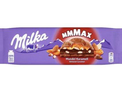 milka cokolada mmmax 100 alpen milch mandel karamell 300 g