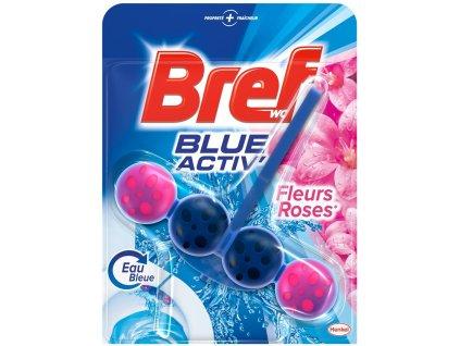 bref blue aktiv fleurs roses wc zaves gulicky 50 g