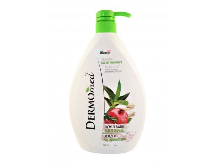 dermomed gel na ruky cream soap aloe and pomegranate 1000 ml