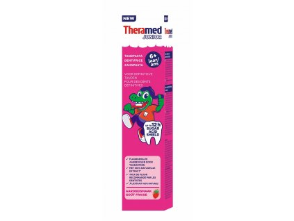 detska zubna pasta theramed junior same formula 6 + rokov 75 ml