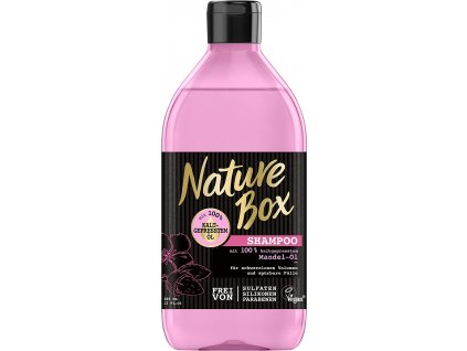 nature box mandel ol damsky sampon na vlasy 385 ml