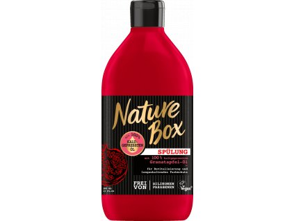 nature box granatapfel ol damsky kondicioner na vlasy 385 ml
