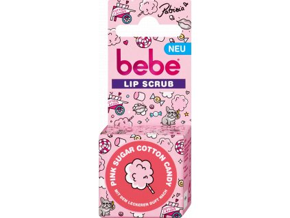 bebe lip ccrub pink sugar peeling na pery 12 g