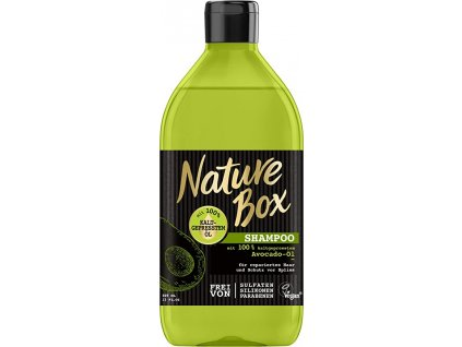nature box avocado ol damsky sampon na vlasy 385 ml