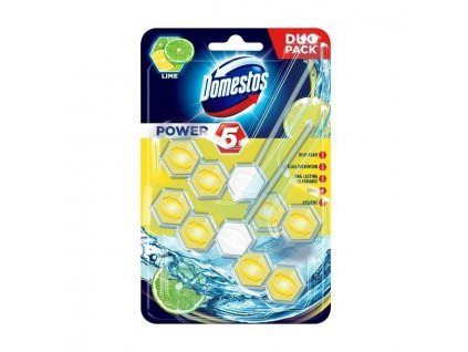 domestos power 5 wc blok lime 2x55g 1598258907 domestos power5 wc blok 2x55g lime