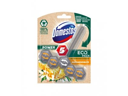 domestos power 5 eco pack mandarinenblute tuhy wc blok 55 g