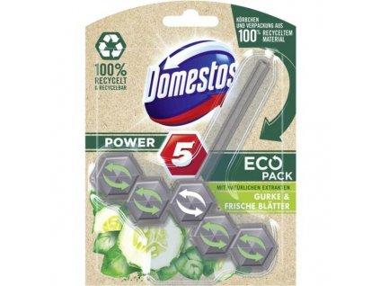 domestos power 5 eco pack gurke frische blatter wc blok 55 g