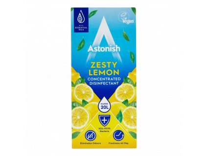 astonish zesty lemon koncentrovany dezinfekcny cistic na podlahy 500 ml