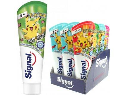 signal pokemon milder minz geschmack detska zubna pasta toothpaste 6 75 ml