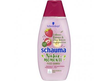 schauma nature moments jahoda banan chia smoothie 350 ml