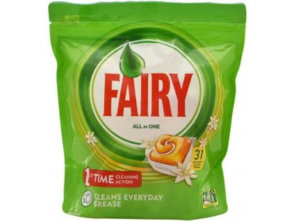 fairy all in one orange tabletky do umyvacky riadu 31 ks