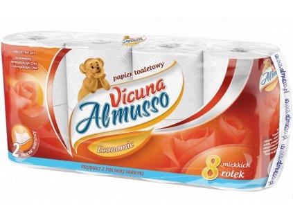 almusso vicuna econonic 2 vrstvovy toaletny papier 8 ks balene