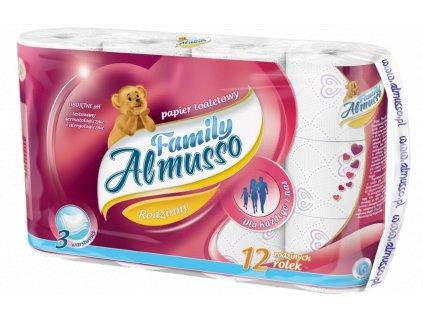 almusso family 3 vrstvovy toaletny papier 12 ks balene