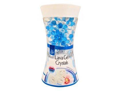 gelovy osviezovac vzduchu svieze pradlo pan aroma lava gel crystals cool linen