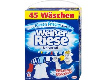 weisser riese universal pulver prasok na pranie 2 925 kg 45 prani
