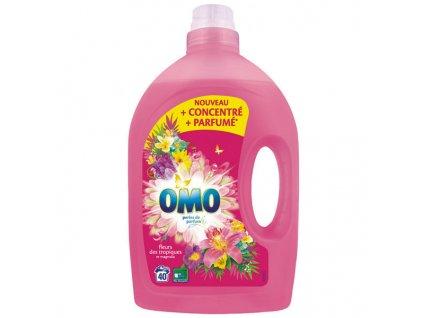 omo fleurs tropicke kvety gel na pranie 2 0 l 40 prani