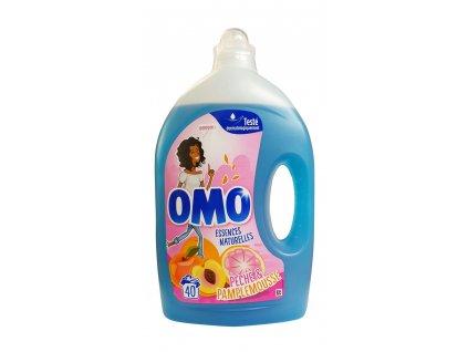 omo essences natturelles peche pamplemousse gel na pranie 2 l 40 prani