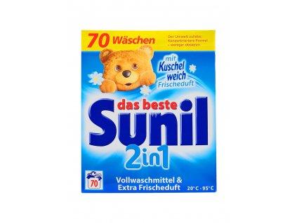 sunil 2 in 1 frischeduft prasok na pranie 3 85 kg 70 prani