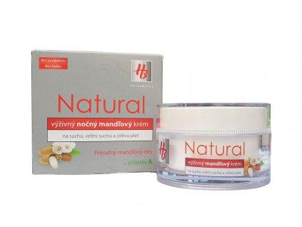 hb natural nocny vyzivny mandlovy krem 50 ml