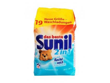prasok na pranie sunil 2 in 1 frischeduft 1 216 kg 19 prani