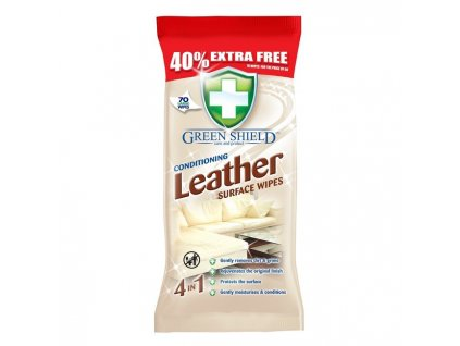 cistiace obrusky na kozu green shield leather 50 ks