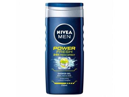 nivea men power fresh 24h fresh effect pansky sprchovy gel 250 ml