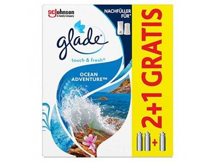 glade ocean adventure nahradna napln 3 x 10 ml