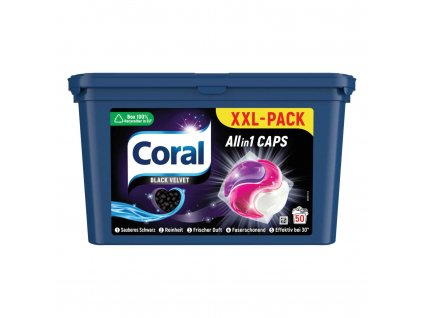 coral black velvet kapsule na pranie allin1 50 prani