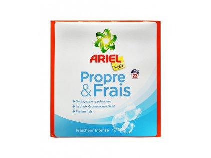 ariel simply propre frais prasok na pranie 1 43 kg 22 prani