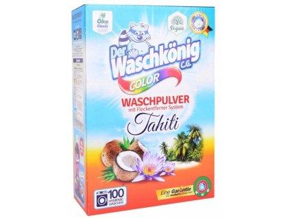 waschkoning color tahiti prasok na pranie 7 0 kg 100 prani