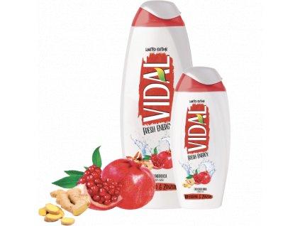 vidal fresh energy damsky sprchovy gel a pena do kupela 500 ml