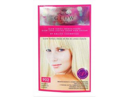 farba na vlasy kallos glow bezova blond c 902