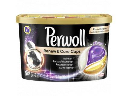 perwoll renew care black kapsule na pranie 18 ks