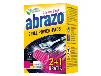 abrazo gril power pads spongia na gril 2 ks balenie