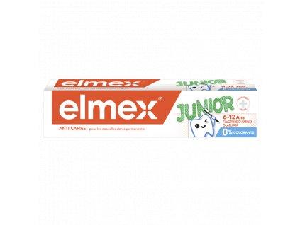 elmex junior anti caries detska zubna pasta 6 12 rokov 50 ml