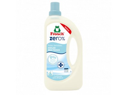 Frosch zero% hogar multiusos univerzálny čistiaci prostriedok - 1,0 L