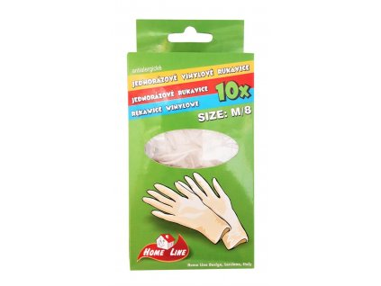 jednorazove vinylove antialergicke rukavice 10 ks 1 balenie