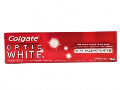 zubna pasta colgate optic white 75 ml