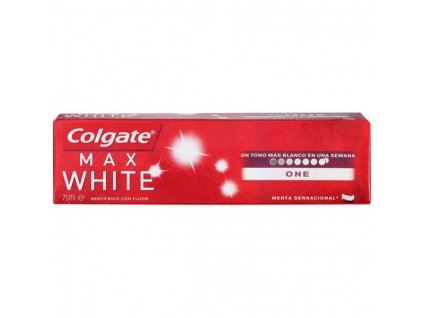 zubna pasta colgate max white one 2 75 ml