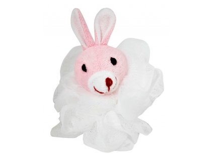 ruza masazna 25 gr so zvieratkom ruzova zajacik