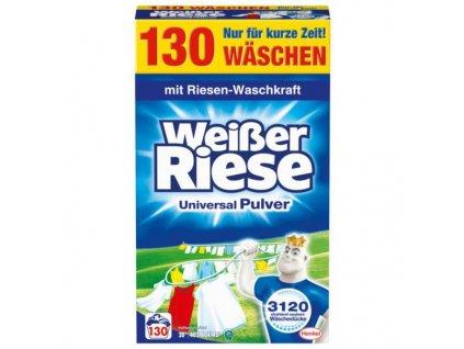praci prasok weisser riese universal pulver 7 15 kg 130 prani