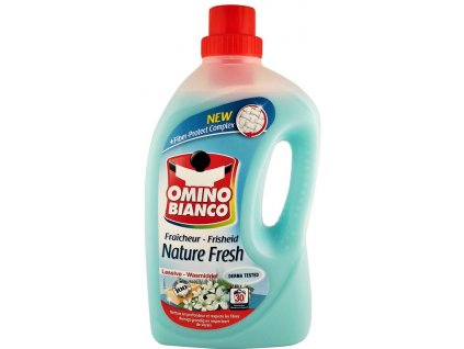 gel na pranie omino bianco nature fresh 2 l 30 prani